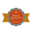 High quality round vintage banner vector image vector image