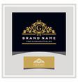 letter g logo design concept royal luxury gold vector image vector image