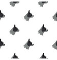 pug dog pattern seamless vector image