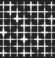 seamless crosses pattern vector image vector image