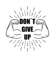 be strong dont give up with burst vector image