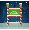 Christmas Board vector image vector image