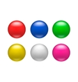 Colorful glossy badges magnets icon