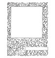 floral frame have decorated with vines and leaves