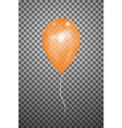 orange air balloon eps10 vector image vector image