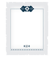 ornamental decorative frame vector image