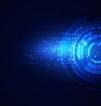 Technology modern futuristic digital background vector image