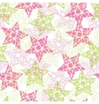 Abstract mosaic star texture vector image vector image