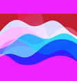 abstract transparent background with different vector image vector image