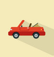 car icon set of great flat icons with style long vector image vector image