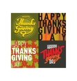 Collection thanksgiving card