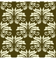Floral seamless arabesque pattern vector image vector image