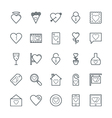Love and Romance Cool Icons 2 vector image vector image