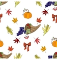 Seamless pattern Thanksgiving vector image vector image