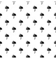 umbrella pattern seamless vector image