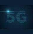 5g new wireless technology net concept connect vector image