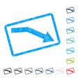 fail trend icon rubber watermark vector image vector image