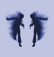 martial art concept vector image