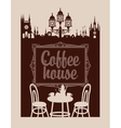 menu for coffee house vector image vector image
