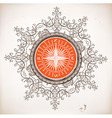 Nautical design Baroque ornaments vector image vector image