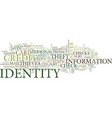 ten steps to reduce your risk of identity theft vector image vector image
