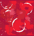 abstract seamless pattern with red wine stains vector image