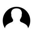 man icon user person profile avatar symbol in vector image vector image