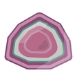Mineral stone isolated vector image vector image