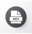 mkv icon symbol premium quality isolated vector image vector image