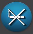 Single non-cigarette icon vector image