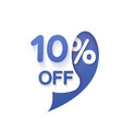 special offer sale vector image vector image