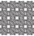 tribal geometric greek seamless pattern ethnic vector image vector image