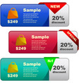 Various sale design elements vector | Price: 1 Credit (USD $1)