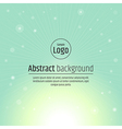 Abstract background light green vector image vector image