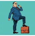Boss business people vector image vector image