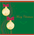 Christmas framework style card vector | Price: 1 Credit (USD $1)
