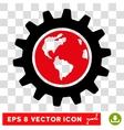 Earth Engineering Eps Icon vector image vector image