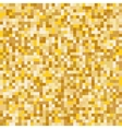 Gold mosaic abstract background vector image vector image