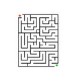 printable mazes for kids maze games worksheet vector image vector image