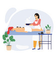 spa wellness beauty center relaxing female client vector image vector image