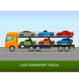 Car Transport Truck vector image vector image