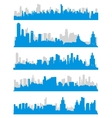 City Skylines vector image