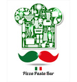 italian kitchen vector image