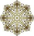 Mandala ethnic indian design vector image vector image
