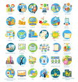 Set of Busines Icons vector image