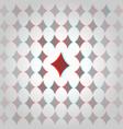 Clubs 3d geometric background