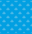compas pattern seamless blue vector image vector image