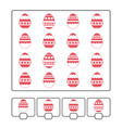 counting game for preschool children for the vector image vector image