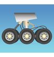 Landing gear vector image vector image