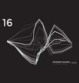 modern shape technological background vector image